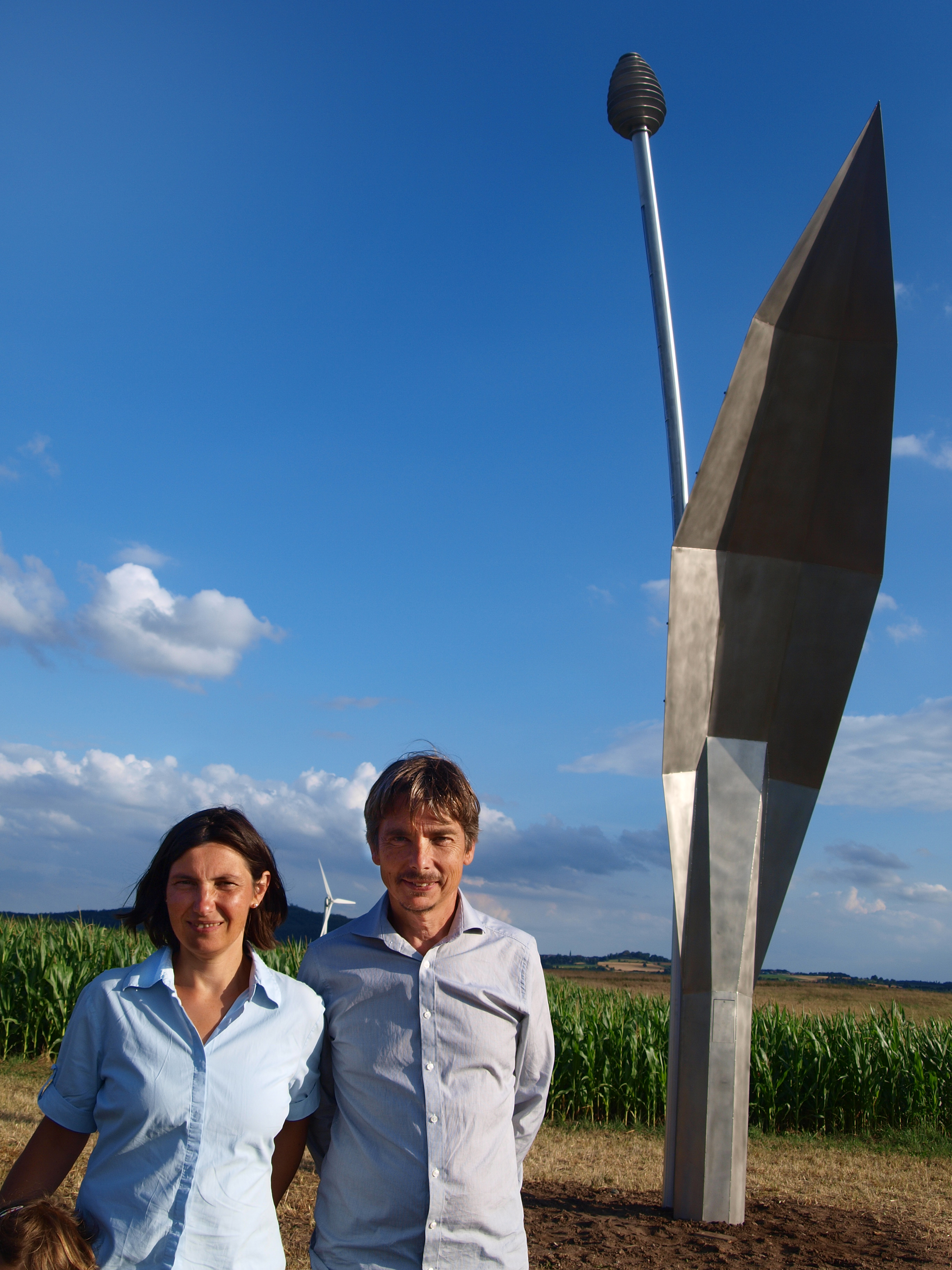 Künstlerpaar David Mannstein und Maria Vill