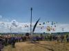 Lyrik Ballons steigen auf