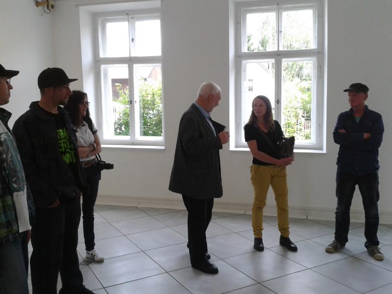 Besuch im Künstlerhaus